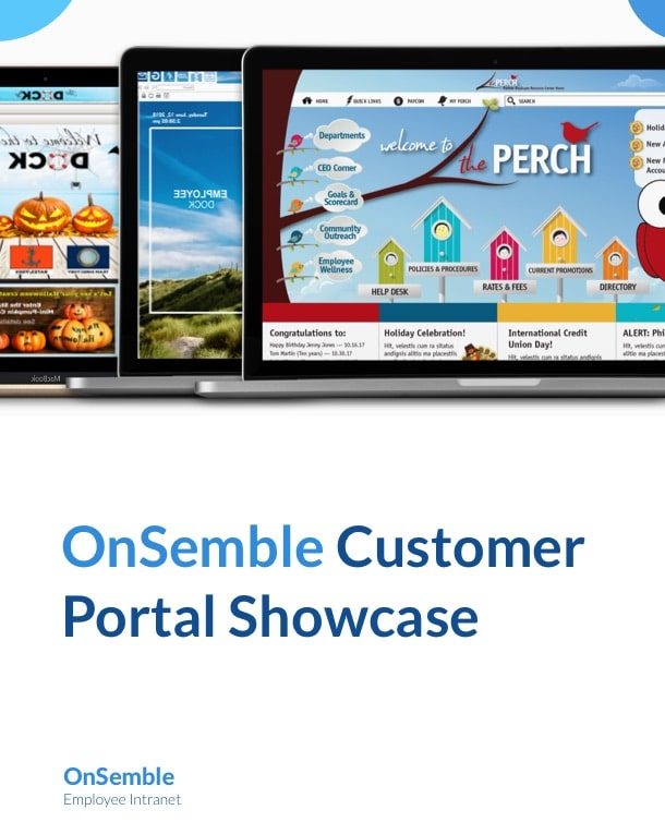 OnSemble Customer Portal Showcase