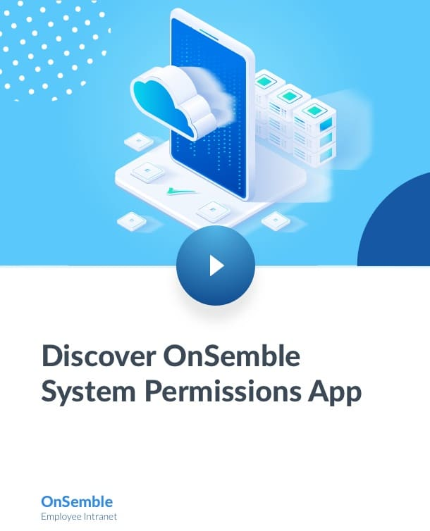 Discover OnSemble System Permissions App