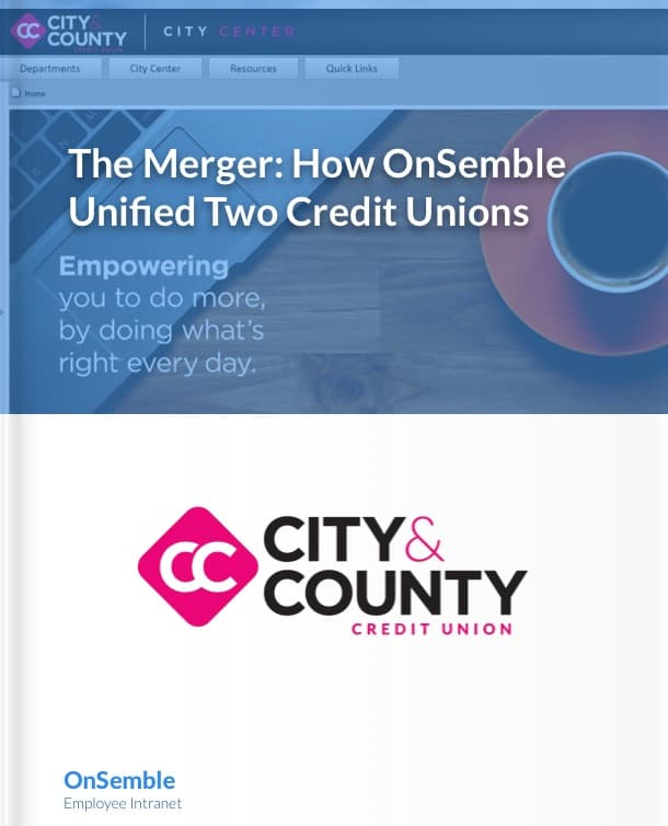 City & County Credit Union Intranet Portal Case Study