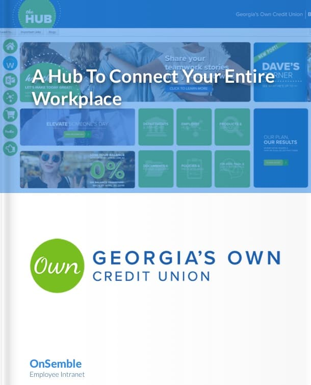 Georgia's Own Credit Union Intranet Portal Software Case Study